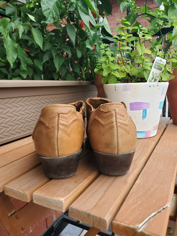 Vintage 90's leather ankle boots - image 6