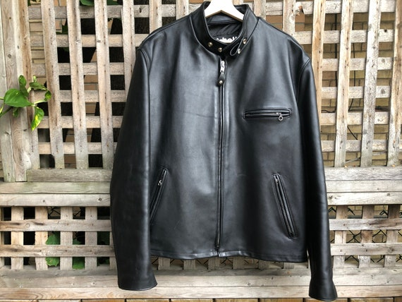 Schott NYC Rider motorcycle leather jacket