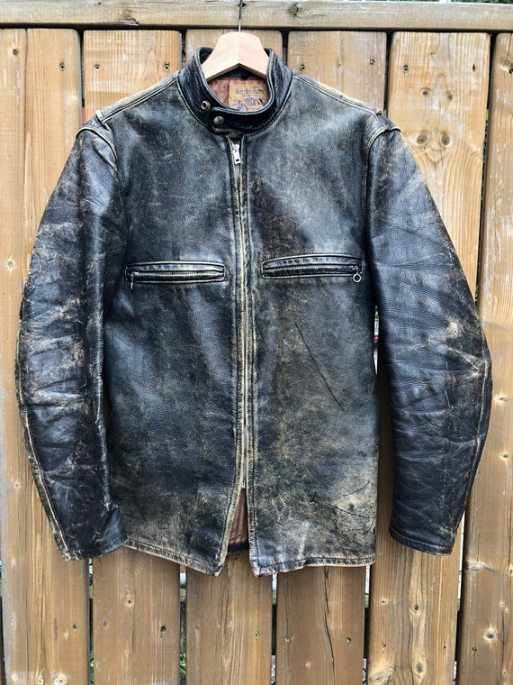Late 40's/Early 50's Northeastern Beck leather jac