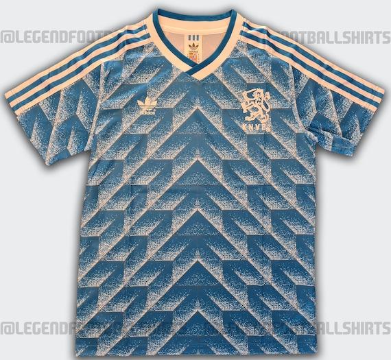 Netherlands away 1988 Classic Retro Football Shirt Ho… - Gem