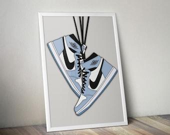 Air Jordan Print   Etsy