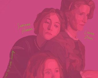 Little Women by Greta Gerwig | Movie Poster | Digital Download | Saoirse Ronan| Florence Pugh | Timothee Chalamet | Emma Watson | Jo March
