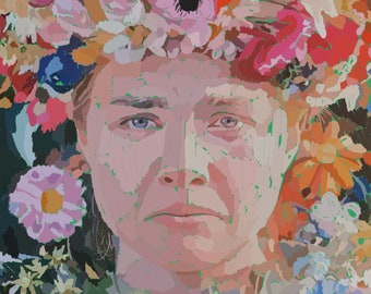 Midsommar by Ari Aster | Digital Download Print | Florence Pugh | Sweden | Horror Movie Print | Wall Art | Home Decor | Movie Art