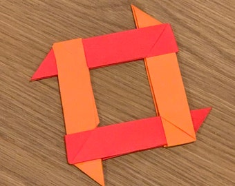 How To Make a Paper Transforming Ninja Star - paper origami easy ... | 270x340
