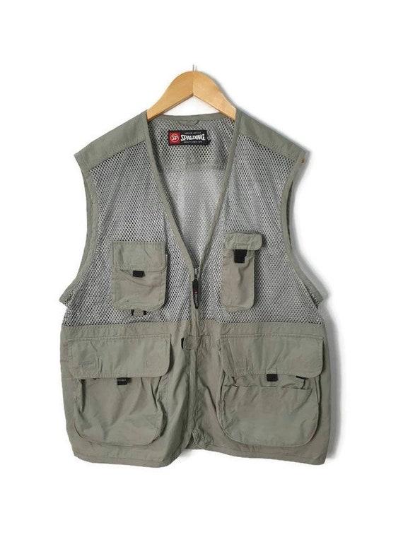 Vintage Spalding Tactical Vest Hunting Vest Multip