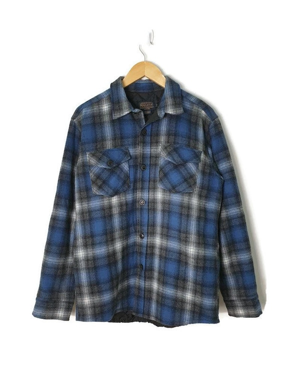Pendleton Padded Flannel Quilted Buttons Up jf4