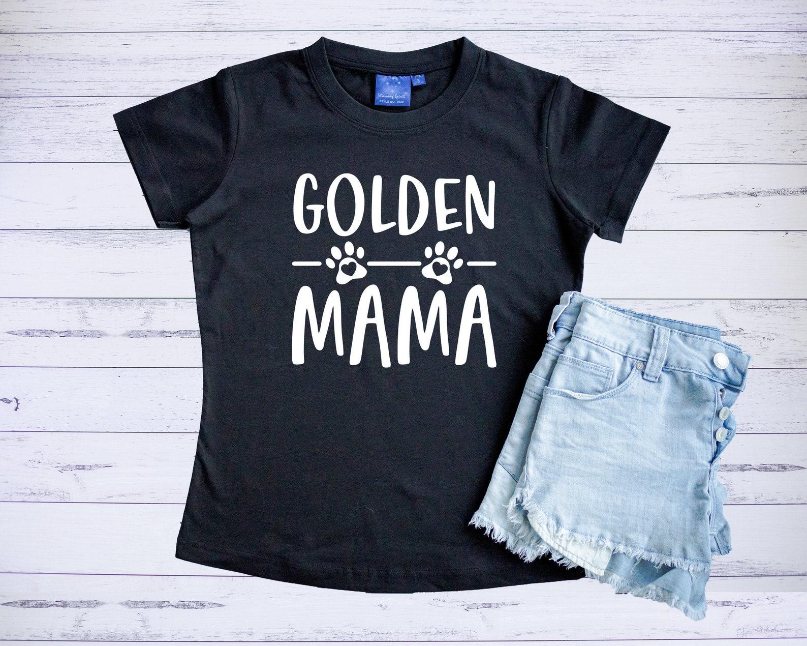 Golden Mama T Shirt