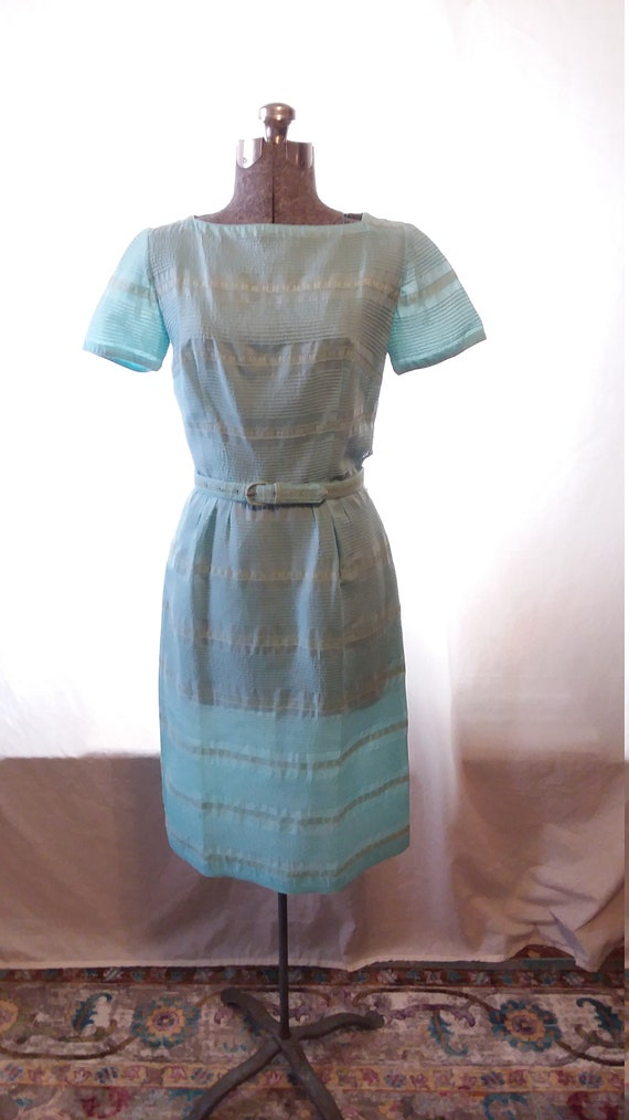 1950s L'Aiglon Cotten Day Dress