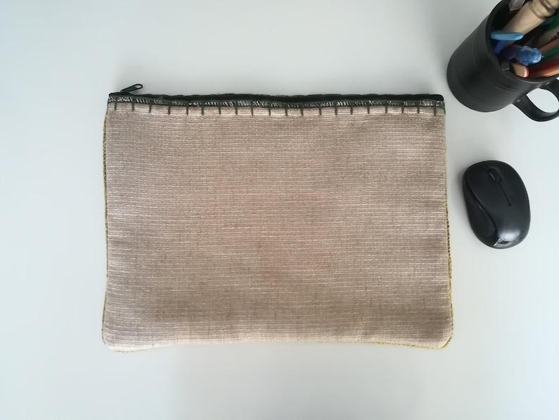 Gift for Children Gift for Her Crochet Laptop Case Green MacBook Case Laptop Sleeve Gift for Teacher