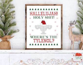 National Lampoons Christmas Vacation Wall Art Etsy