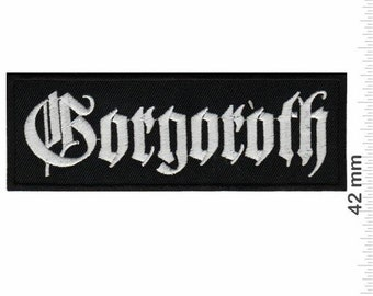 Belphegor Death Metal Band Patch Badge Embroidered Iron on Applique Souvenir Accessory