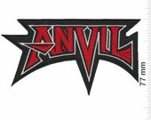 Anvil Heavy Metal Band_1 Patch Badge Embroidered Iron on Applique Souvenir Accessory