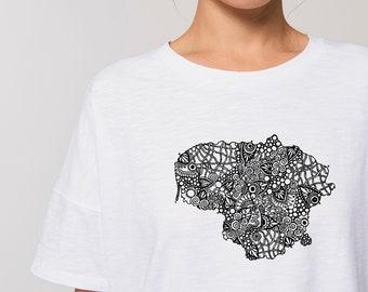 Lithuanian t-shirt, Lithuanian souvenirs, Lietuva |  Female, S, M, L, XL