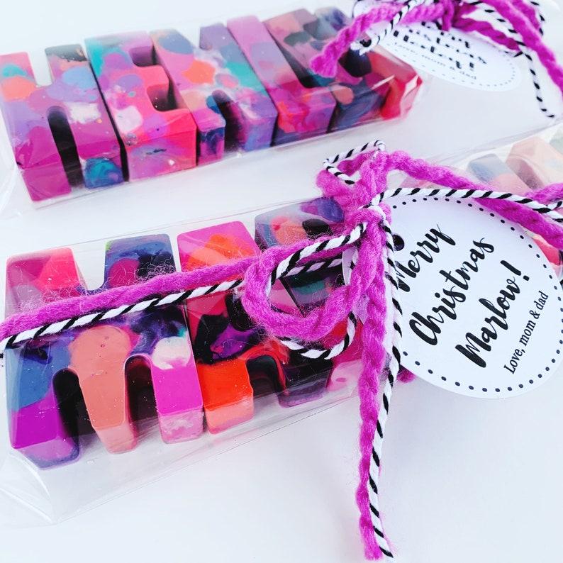 Birthday Gift Kids Easter Easter Crayons Easter Basket Gift Kids Birthday Kids Crayons Name Crayons Custom Name Crayons