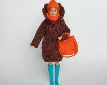 """KIT per fare un Pupazzo di Neve Christmas Jumper per una bambola di 12/"""" Barbie O KEN"""