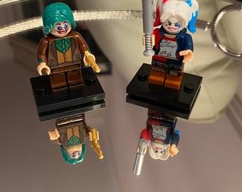 Harley Quinn as Santa Claus Custom Minifigure LEGO Compatible