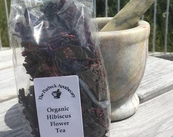 Organic Hibiscus Flower Tea