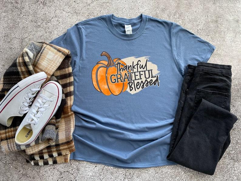 Thankful Grateful Blessed Shirt Masswerks Store
