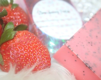 Strawberry Scented Bar Soap