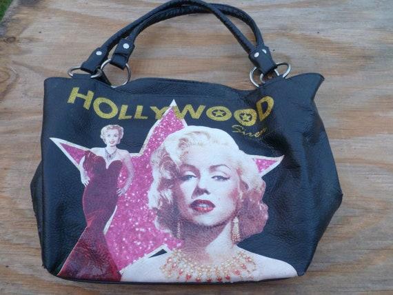 Vintage Marilyn Monroe Leather Purse