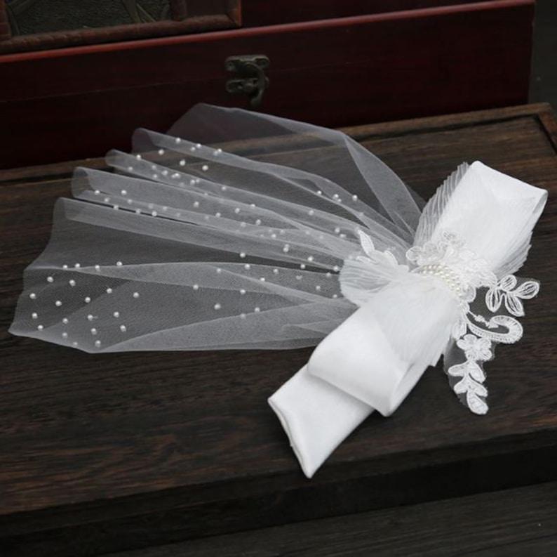 Pearl Wedding Veil