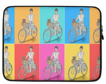 vinyl sticker bicycle Da Vinci Bike invention laptop DECAL macbook iPad computer
