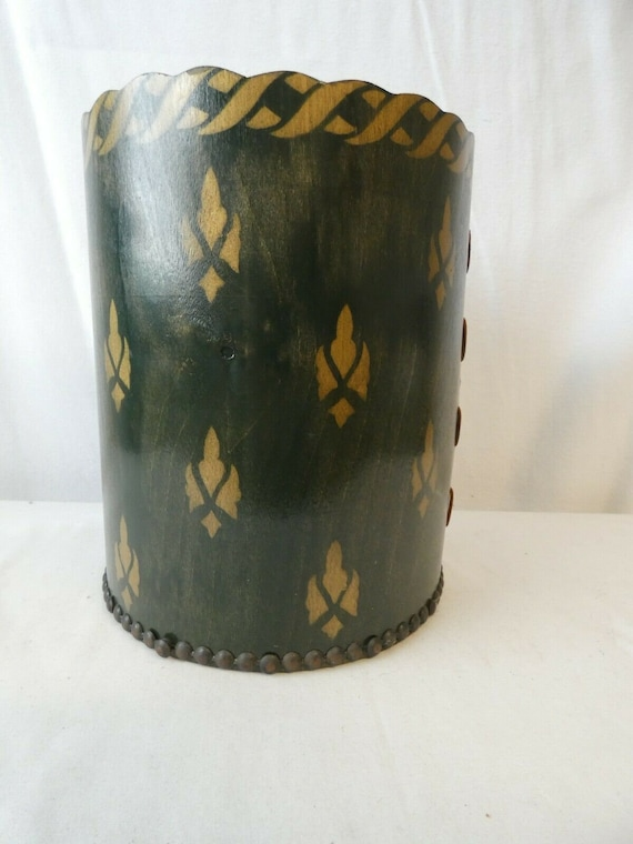 Beautiful Antique Edwardian Trilby Hatbox Made by