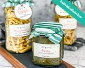 Individualisierbare Etiketten + passende Anhänger für Marmelade & Co. zu unterschiedlichen Anlässen zum Ausdrucken, PDF Druckvorlage