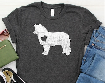 Social Distancing With My Border Collie Owner Funny Shirt  Women/'s Tee  Tank Tops  Kids  Hoodie  Crewneck  2020 Quarantine /& Pandemic