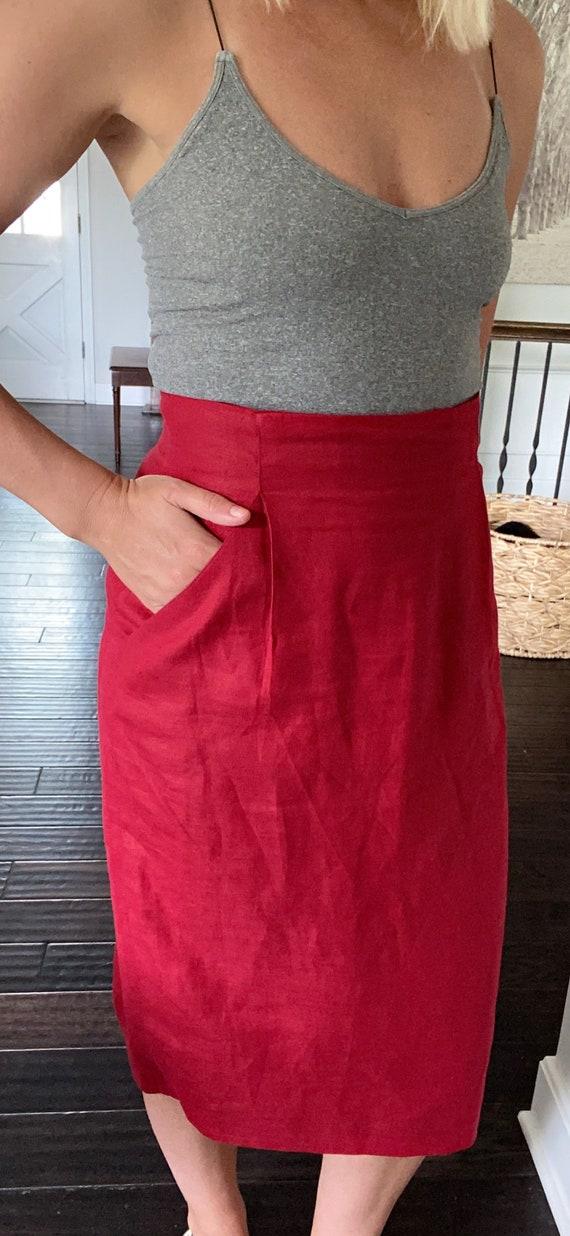 1959 high waisted pencil skirt