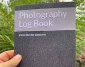 Photography Log Book: For 35mm Film Cameras Paperback. To capture 288 exposures - 12 rolls of 24 exp film. 32 pages. 15.24 x 22.86 cm