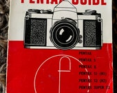 Pentax Guide | Focal Guide | Various Early Pentax Cameras including Pentax S, K, S2, S3 & SV | Paperback Book