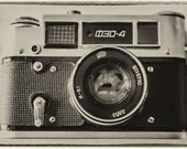 Digital Download Fed 4 Vintage Russian Camera Photograph, Vintage Effect, Fed4. Instant Digital Download Photo
