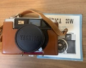 Complete Yashica 35W - Rangefinder Camera Kit  - Film Tested. Vintage Analogue 35mm Film Camera. Case, Manual and Box.