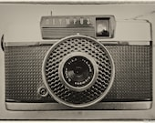 Vintage Camera Photo | Vintage Effect photograph of an Olympus Pen EE 1964. Instant Digital Download