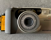 Olympus Superzoom 160 Compact Camera with Autofocus. Film Tested. Complete with 24exposure Kodak 23mm Film.