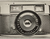 Vintage Yashica Camera Photograph. Vintage Effect. Yashica 35W Rangefinder. Instant Digital Download