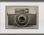 Vintage Camera Photo. Vintage Effect photograph of an Olympus Pen EE 1964. Instant Photo Digital Download. Instant Digital Download