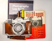 Film Tested Kodak Retina Reflex with Focal Guide Manual, Case. Filter and Colour Film. Plus Photography Log Book. Type 025 Retina Reflex
