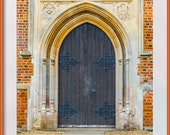 Church Door. St John's Windlesham, Surrey. Photo for Instant Download in Four Sizes. Digital Download.