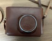 Leather Case for Fed-4 Rangefinder camera