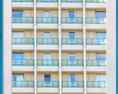 Concrete Tower Block. Windows and Balconies. Bracknell Berkshire England. Instant Digital Download in Five Sizes of Photograph