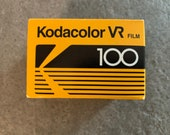 I Roll of Kodak, Kodacolor VR 36 exposure Film. Colour Print Film ISO 100, Expired 35mm film, expired 05/96