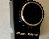 Manual Adapter for Olympus OM10 with photocopy of instructions