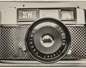 Vintage Yashica Camera Photograph. Vintage Effect. Yashica 35W Rangefinder. Instant Digital Download