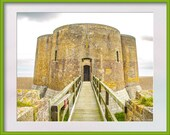Photograph of Martello Tower, Aldeburgh, Suffolk, UK. Set of five sizes of image for instant digital download