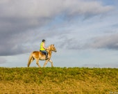 Lone Rider. Set of Three Different Photographs in 7x5 (A4,A5) Format. Instant Digital Download. Photo for Download