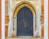 Church Door. St John's Windlesham, Surrey. Photo for Instant Download in Four Sizes. Digital Download.