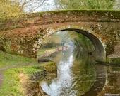 Digital Photo to Download. Canal Bridge. Set of Five Sizes of Image. Five Downloads. Digital Photo.