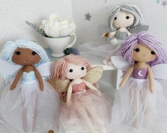 FairyNeedle felted FairyChristmas FairyChristmas DecorFairy ornamentFairy giftXmas FairyFairy DecorationFairy Tree Ornament